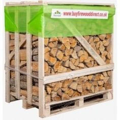 Buy Firewood Direct offers premium quality of kiln dried logs throughout UK. Our kiln dried logs in nets available in 2 size sacks; 22l and 40l for sale online.