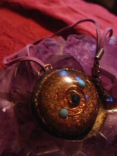 orgone orgonite energy pendant by Orgoknights on Etsy, $25.00