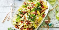 Create a delicious Thai-inspired pineapple, rice and coconut salad with this quick and easy 30-minute recipe.