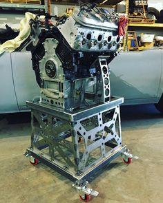 Custom Chevy LSX Engine Stand made for DIYAutoTune