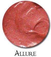 Silk Naturals Allure Blush- Warm Medium Peach- ALG $4.50 Allure is a warmer peach tone- sheerish with a hint of shimmer.  It's similar, but deeper than Pretty Please.  Vegan & Gluten Free