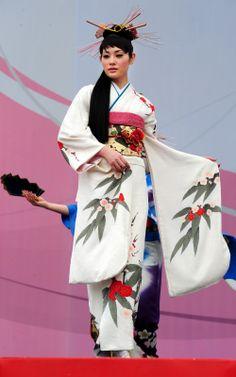 Stunning Japanese kimono.