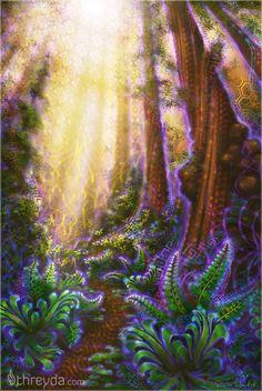 Metta Grove by Simon Haiduk , Art Print - Simon Haiduk, Threyda - 1