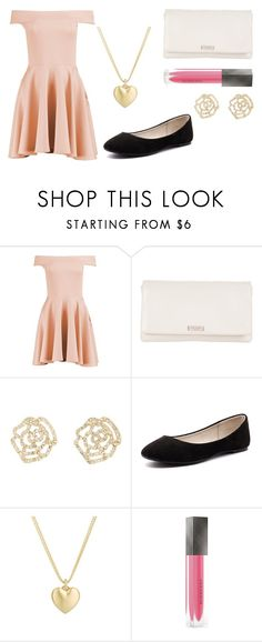 """My Fancy Dinner Outfit"" by fionagthehomieg on Polyvore featuring Boohoo, Kate Spade, Charlotte Russe, Verali, Finn and Burberry"