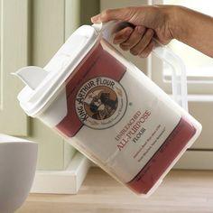 Bag in Sugar Dispenser - 60+ Innovative Kitchen Organization and Storage DIY Projects