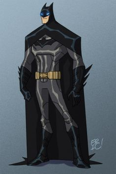 Batman by *EricGuzman on deviantART