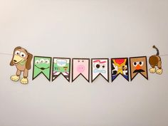You've Got a Friend In Me Toy Story Characters Banner - Toys for years old happy toys Fête Toy Story, Toy Story Theme, Toy Story Party, Toy Story Birthday, 2nd Birthday Parties, Toy Story Quotes, Mickey Mouse Parties, Mickey Mouse Birthday, Minnie Mouse