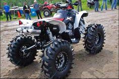 . 4 Wheelers, Atvs, Cool Trucks, Offroad, Monster Trucks, Vehicles, Dirt Bikes, Golf Carts, Bikers