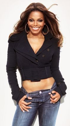 40+ inspiration...Janet Jackson...<3 grt hair and makeup natural yet gorgeous ! Janet Jackson Youtube, Jo Jackson, Michael Jackson, Style Icons, James White, Celebrity Diets, Aaliyah, Black Women Fashion, Britney Spears