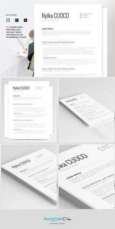 resume template nyika by resume templates on mywpthemes_xyz - Templates For A Resume
