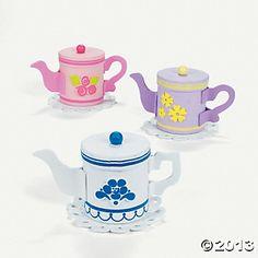 Teapot Treat Holder Craft Kit