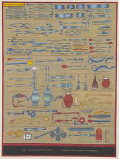 Medical instruments (c1687)