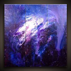 abstract space painting