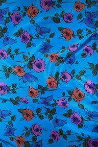Vintage Silk Satin, 1960's, Usa  At www.charlottebialas.com  5 Rue Debelleyme, 75003 Paris