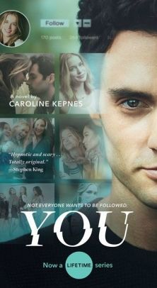 """You: A Novel by Caroline Kepnes. The novel that Netflix series """"YOU"""" was based on! Tv Series To Watch, Netflix Series, Netflix Tv, Real Love Quotes, Books 2018, Mass Market, Book Title, See On Tv, Ebook Pdf"""