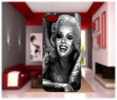 Marilyn Monroe Tatto iPhone cases 4/4S Case iPhone 5 Case Samsung Galaxy S2/S3/S4 Cases Blackberry Z10 Case from GlobalMarket