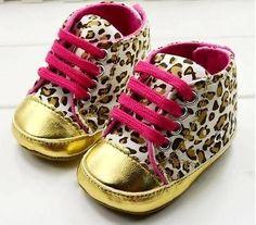 Zapato bebe, niña, leopardo, original, de 0 a 18 meses.NUEVO BABY SHOES ORIGINAL