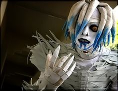 """Rem (Shinigami) - Death Note #cosplays"" And WHAT a cosplay this is! Good detail."