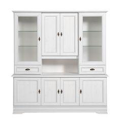 Küchenschrank weiß braun Holz Schränke Küchenschränke | Zuhause ... | {Kücheneckschrank hoch 62}