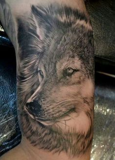 love wolf tattoos
