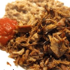 Authentic Carnitas Recipe Main Dishes with pork country-style ribs, orange juice, lime juice, garlic, ground cumin, salt, water