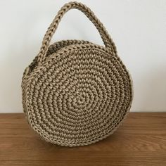 Pattern and Tutorial ~ DIY Tutorial Ideas! Crochet Circles, Crochet Round, Crochet Motif, Single Crochet, Crochet Hooks, Knit Crochet, Crochet Patterns, Crochet Handbags, Crochet Purses
