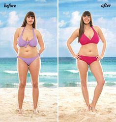 Big Bust bathing suit - awesome site to know how to dress your body type for the beach!