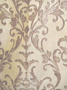 Damask Drapery Fabric - Classic print