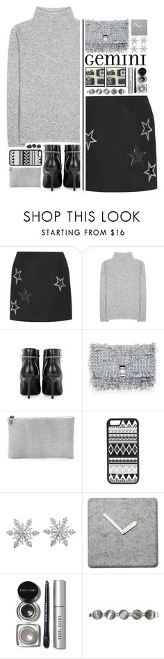 """""""""""What's Your Fashion Horoscope?"""" - Gemini Edition!"""" by ritaof ❤ liked on Polyvore featuring Anthony Vaccarello, The Row, Yves Saint Laurent, Proenza Schouler, Lauren Merkin, CellPowerCases, Van Cleef & Arpels, Bobbi Brown Cosmetics, Kendra Scott and Graham & Brown"""