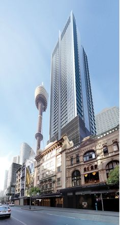 Sydney CBD Proposal, redevelopment of City Tattersals club.