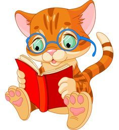 Bookish Cat for Facebook