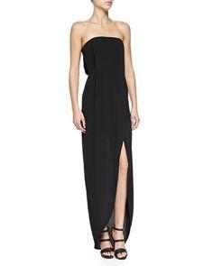 Jesse Strapless Tulip-Hem Gown by BCBGMAXAZRIA at Neiman Marcus.