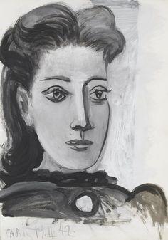 "Pablo Picasso - ""Portrait of Dora Maar"". 1939"