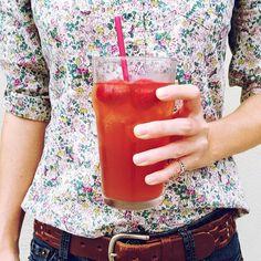 Organic Blushing Berry Black Iced Tea!