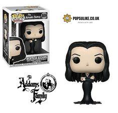 Morticia Funko Pop Vinyl The Addams Family Funko Pop Dolls, Funko Pop Figures, Pop Vinyl Figures, Funko Pop Display, Funko Pop Anime, Funk Pop, Pop Toys, Pop Collection, Pop Games