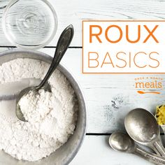 Join us for an easy tutorial on how to make a roux and how to use the technique to improve your cooking and your recipes.