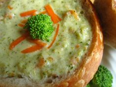 Panera copy-cat recipe for Broccoli Cheddar Soup - I like this one because it calls for skim milk instead of half and half - can't wait to try it!