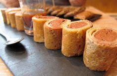 Makis de crêpes à la mousse au chocolat http://www.recettes-bretonnes.fr/?p=5982