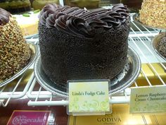 Linda's Fudge Cake from Cheesecake Factory.  I'm a little obsessed.