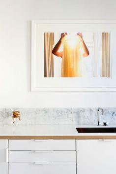 Corian og marmor i en eksklusiv miks