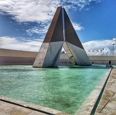 #water #blue #monument #combatentes #loveit