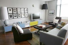 modern living room by BarbaraSaskia