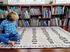 Educational Blanket Sight Words Learn How to Read Sounds Early Reader Dolch Fry List Prek Kindergarten Toddler Soft Mink for Kids Large 50x60 Christmas Gift Double Layered