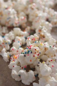 Confetti Popcorn - great birthday treat for school