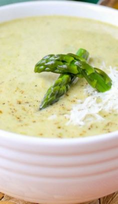 Simple Asparagus Soup