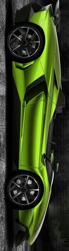 #Lamborghini Aventador J by Levon