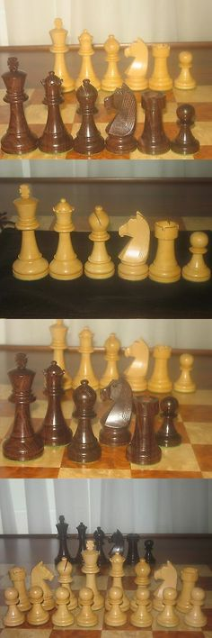 Contemporary Chess 40856: German Knights Rosewood And Boxwood Chess Tournament Set With Black Storage Bag -> BUY IT NOW ONLY: $63 on eBay!