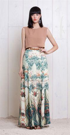 Somente na Antix Store você pode encontrar a Peneira Long Skirt Point exclusivamente . - My Style Pinboard - Saias Beauty And Fashion, Look Fashion, Girl Fashion, Style Désinvolte Chic, My Style, Dress Skirt, Dress Up, Street Style, Costume