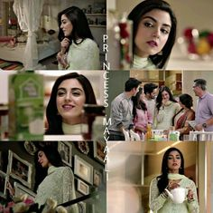 Throwback to Milk Pak TVC #MayaAli #BeautifulActress #Cute #Pretty #Adorable ♥