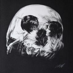 Tom French illusions #skull